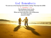 GodRemembers