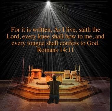Image result for Romans 14:11 (KJV)