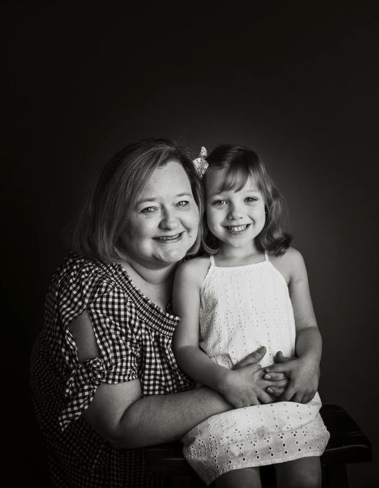 My wife Tara & Daughter Elisabeth